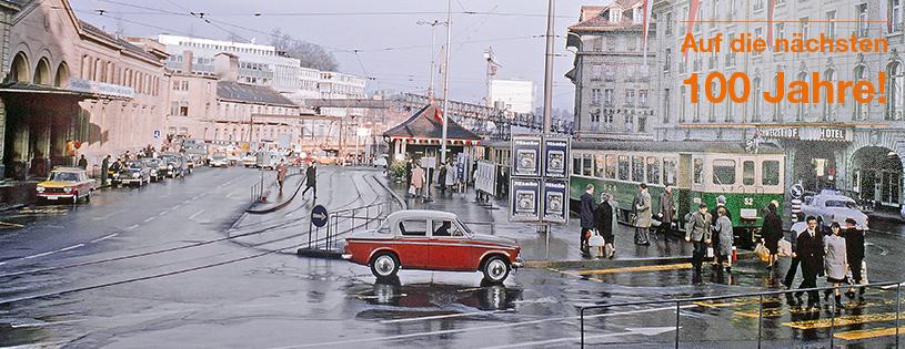 Bahnhofplatz Bern_1960