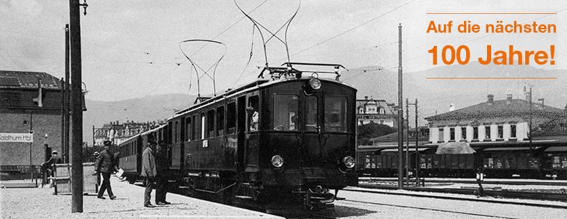 Bahnhof Solothurn um 1916