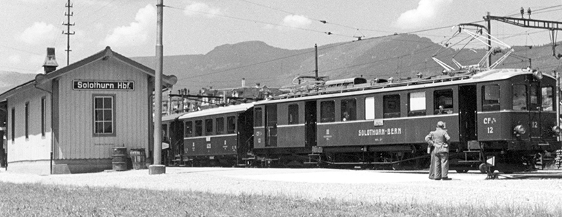 Bahnhof Solothurn 1916