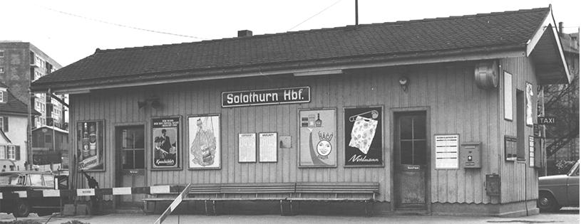 Solothurn Wartehalle 1966