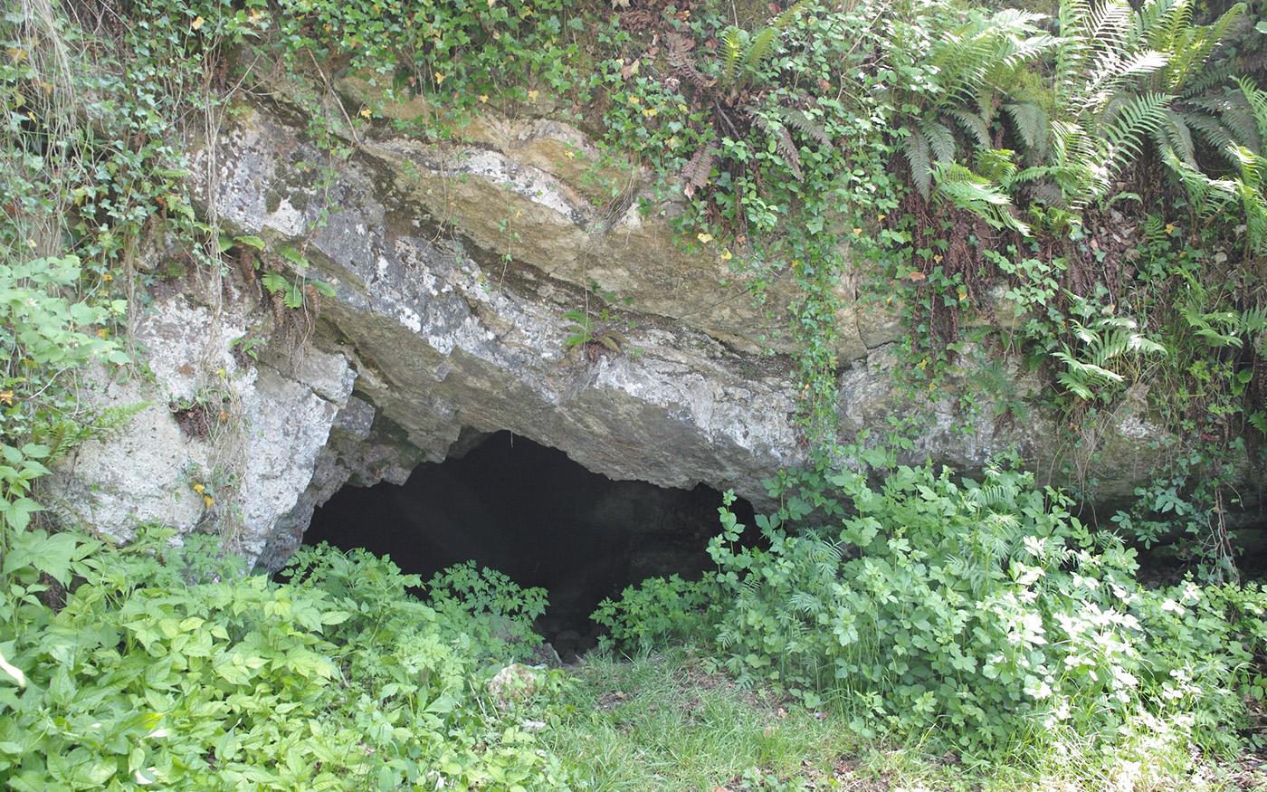 Wasserfallenbahn Überreste des Nordportals von Reigoldswil